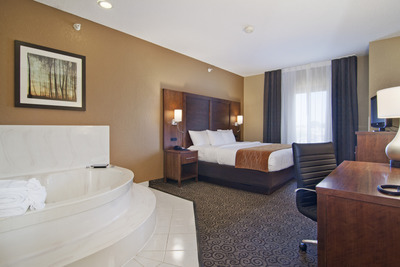 Comfort Suites By Choice Hotels Ramsey Mn